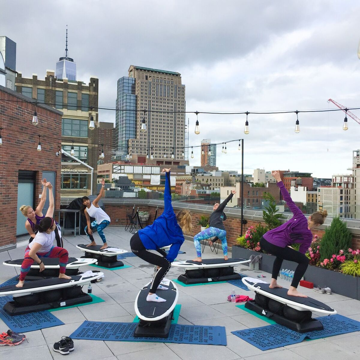 SURFSET New York City pop up surfing lessons