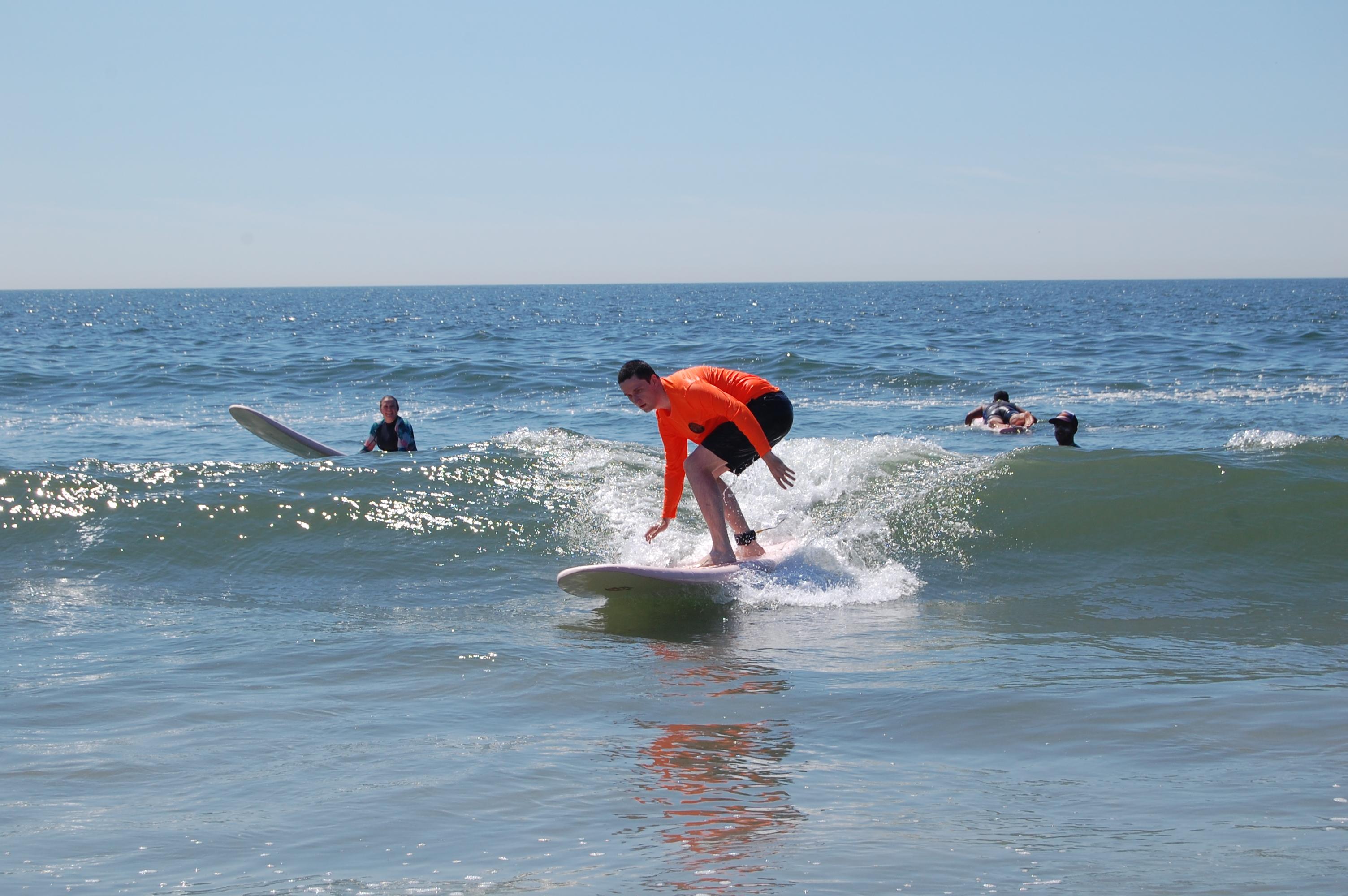 Sierra Surf School surfing lessons nyc