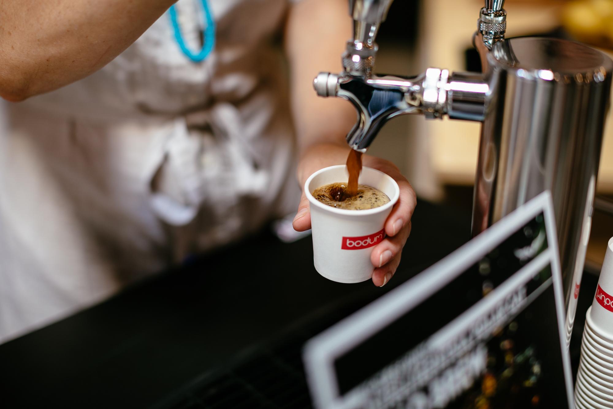 Perking up with Intelligentsia coffee at Dessert Goals.