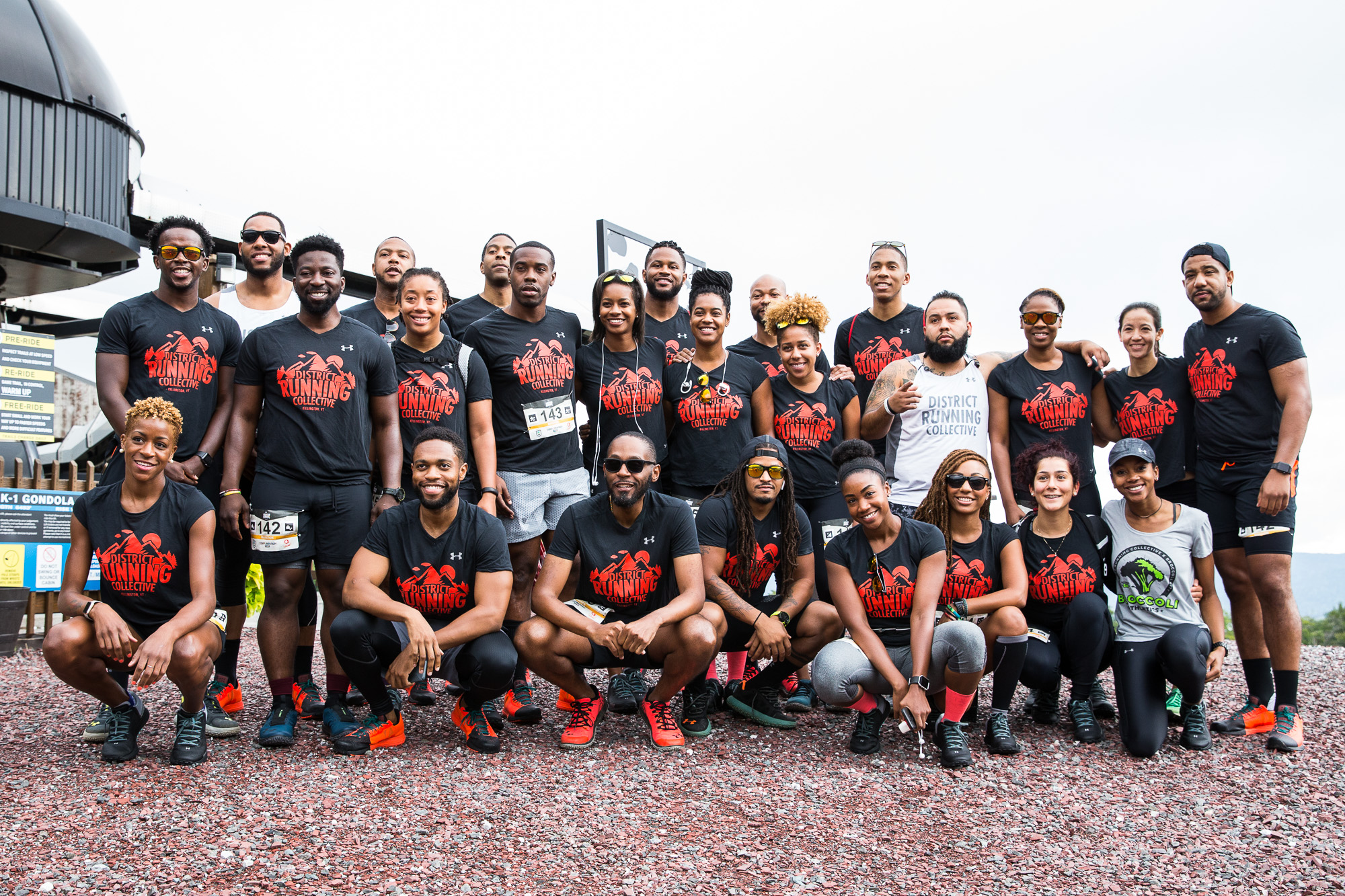 District Running Collective at the UA Mountain Run