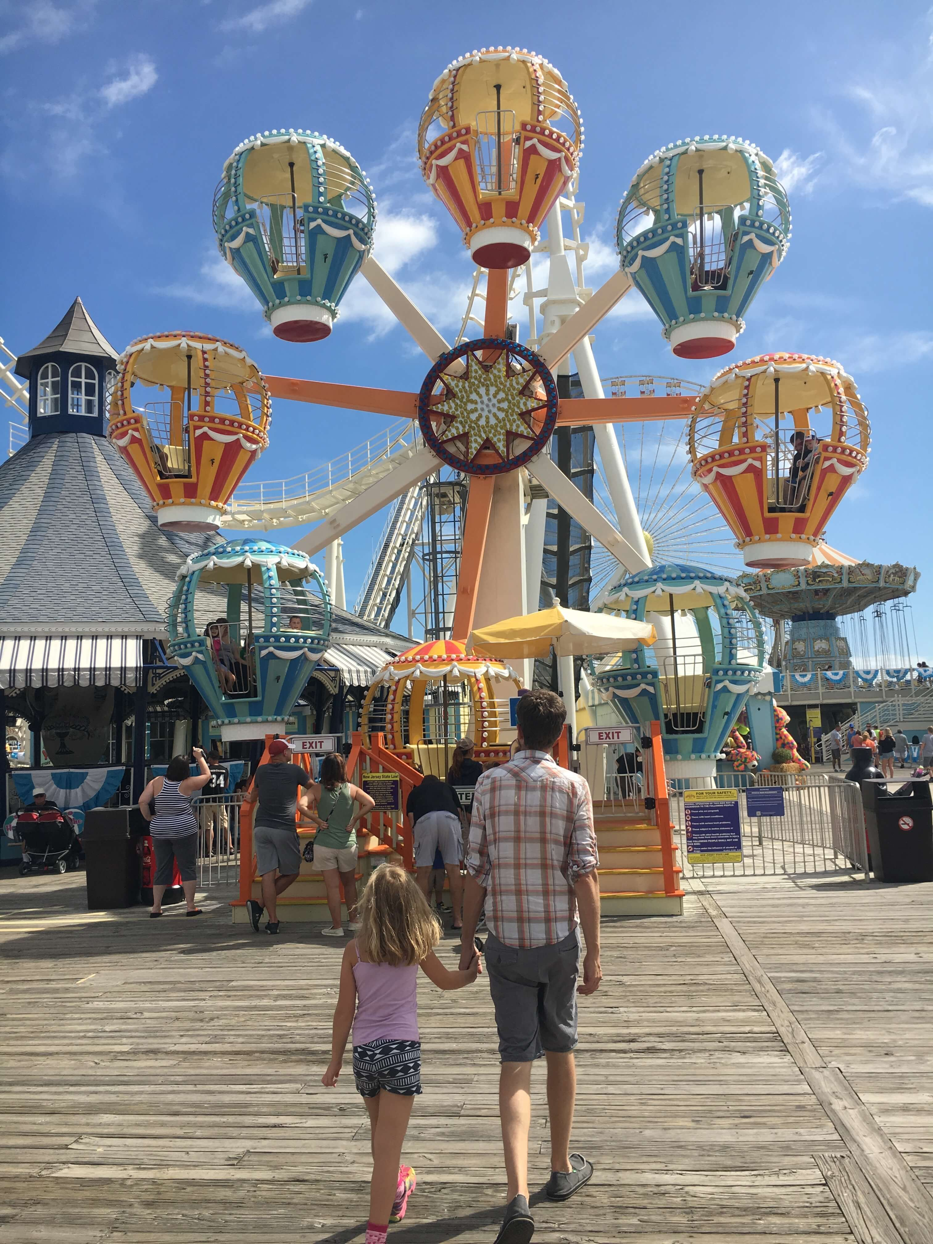 Fall Fun at Morey's Piers rides