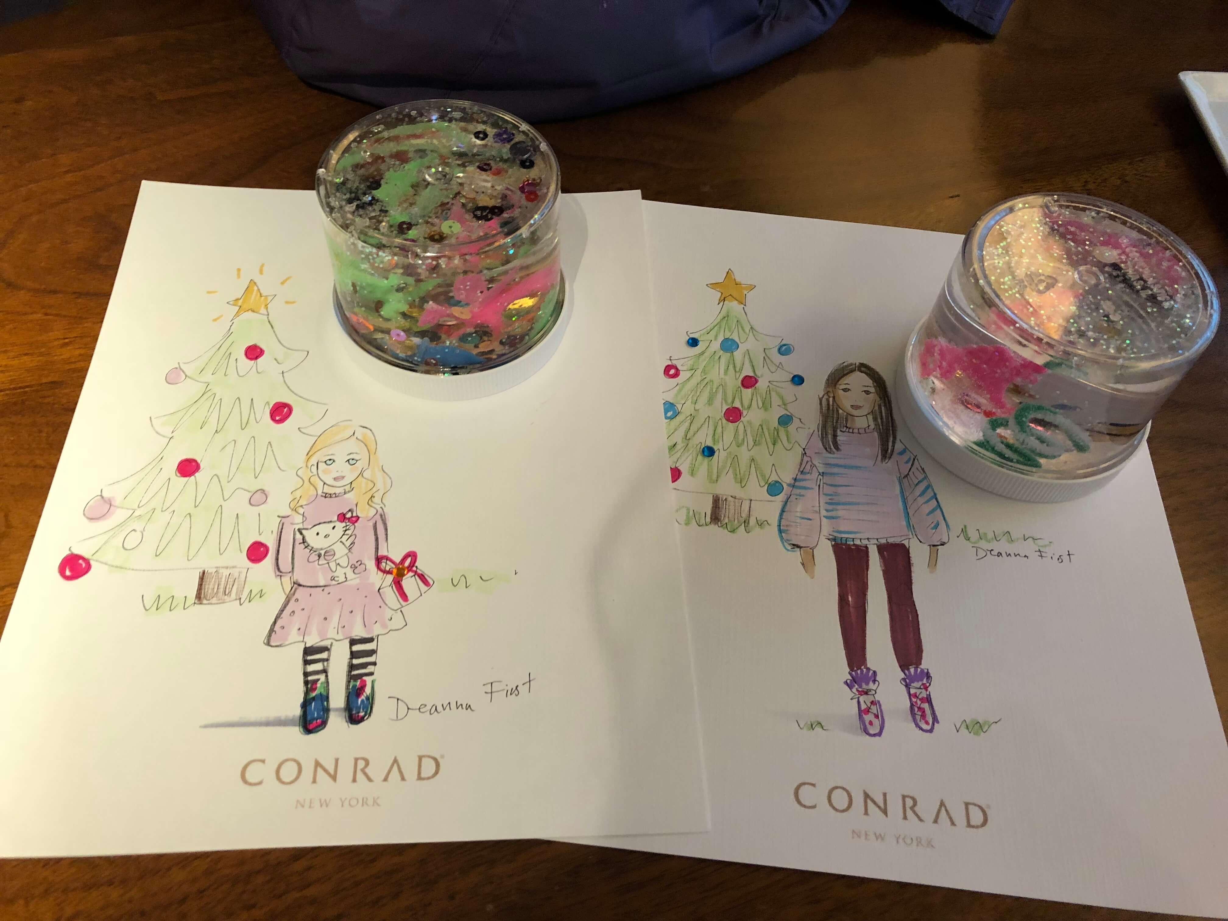 holiday fun at the conrad new york holiday event