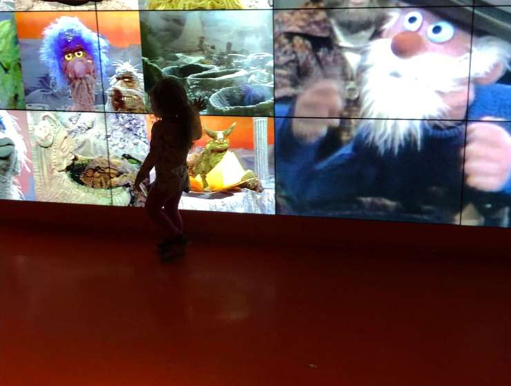 museum of the moving image screen The Jim Henson Exhibition