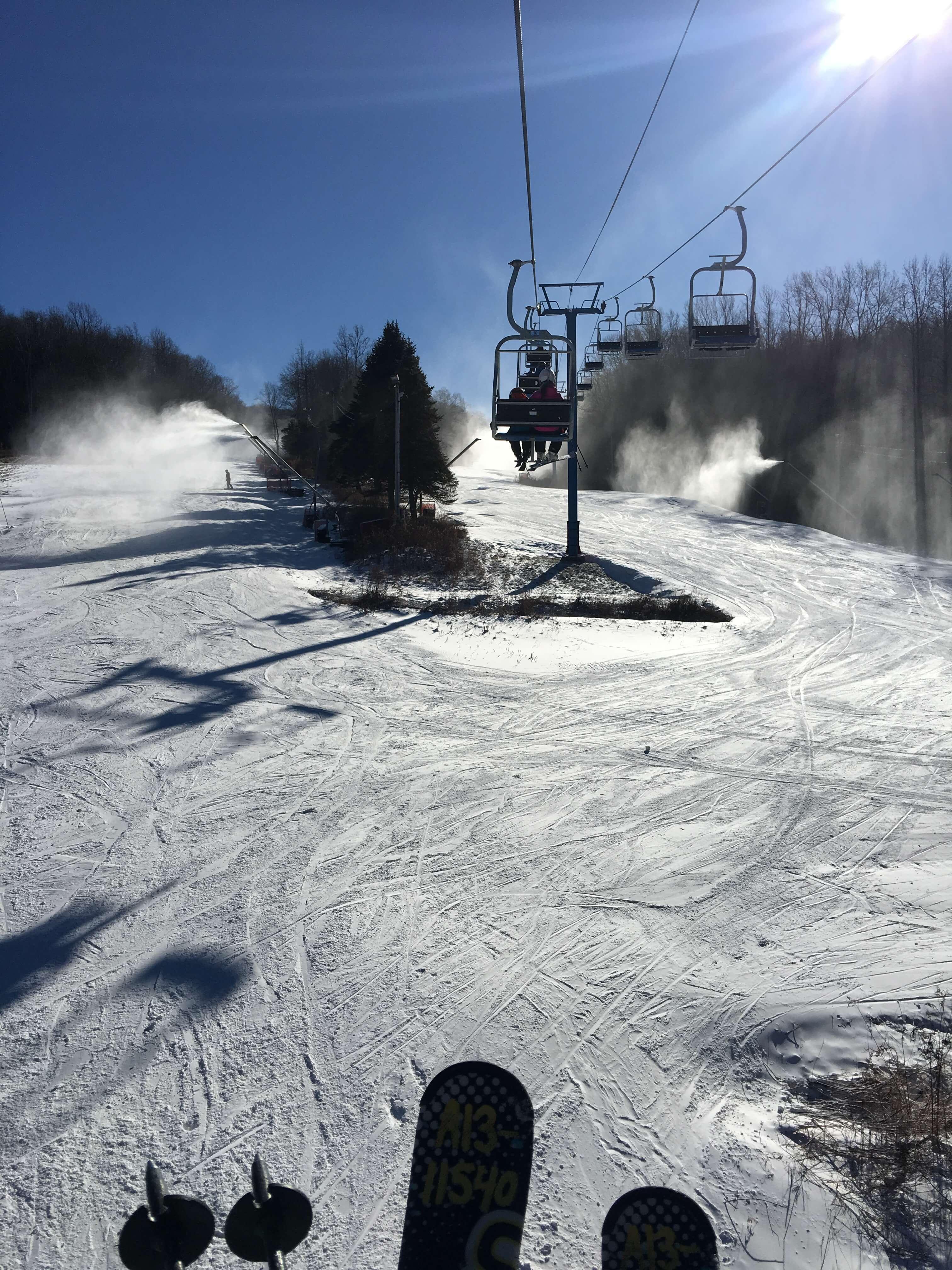 First-Time Skiing at Shawnee Mountain Ski Area