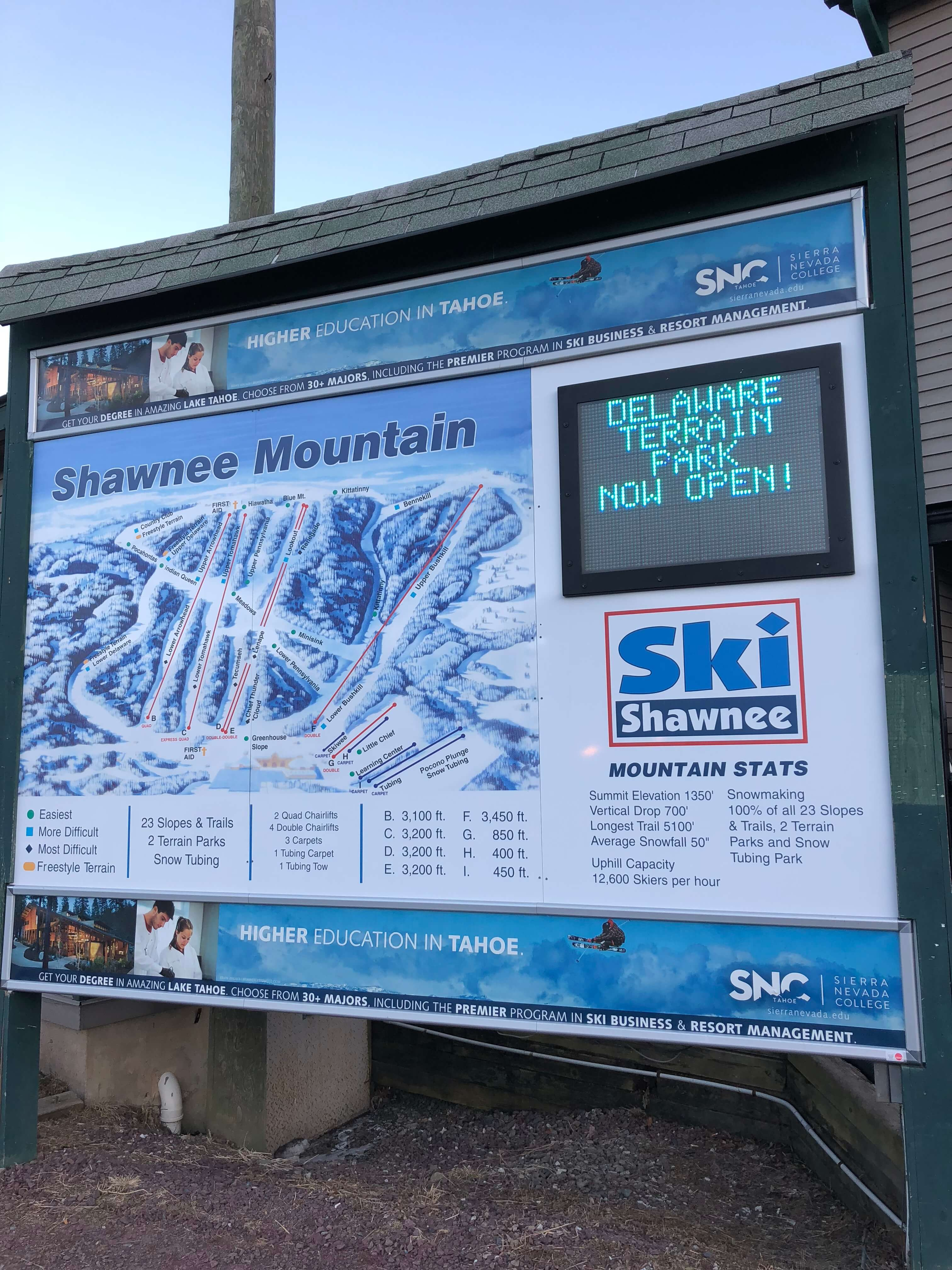 First-Time Skiing at Shawnee Mountain Ski Area in PA