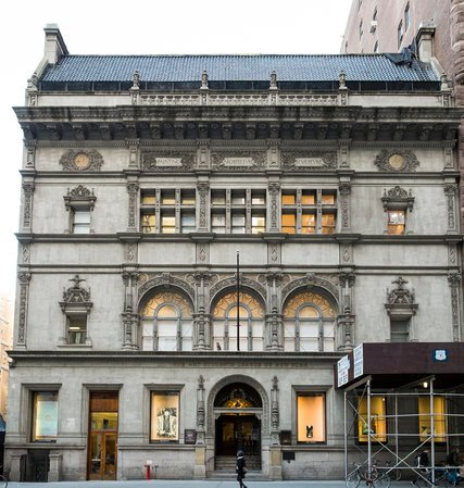 The Art Students League building is 125 years old!