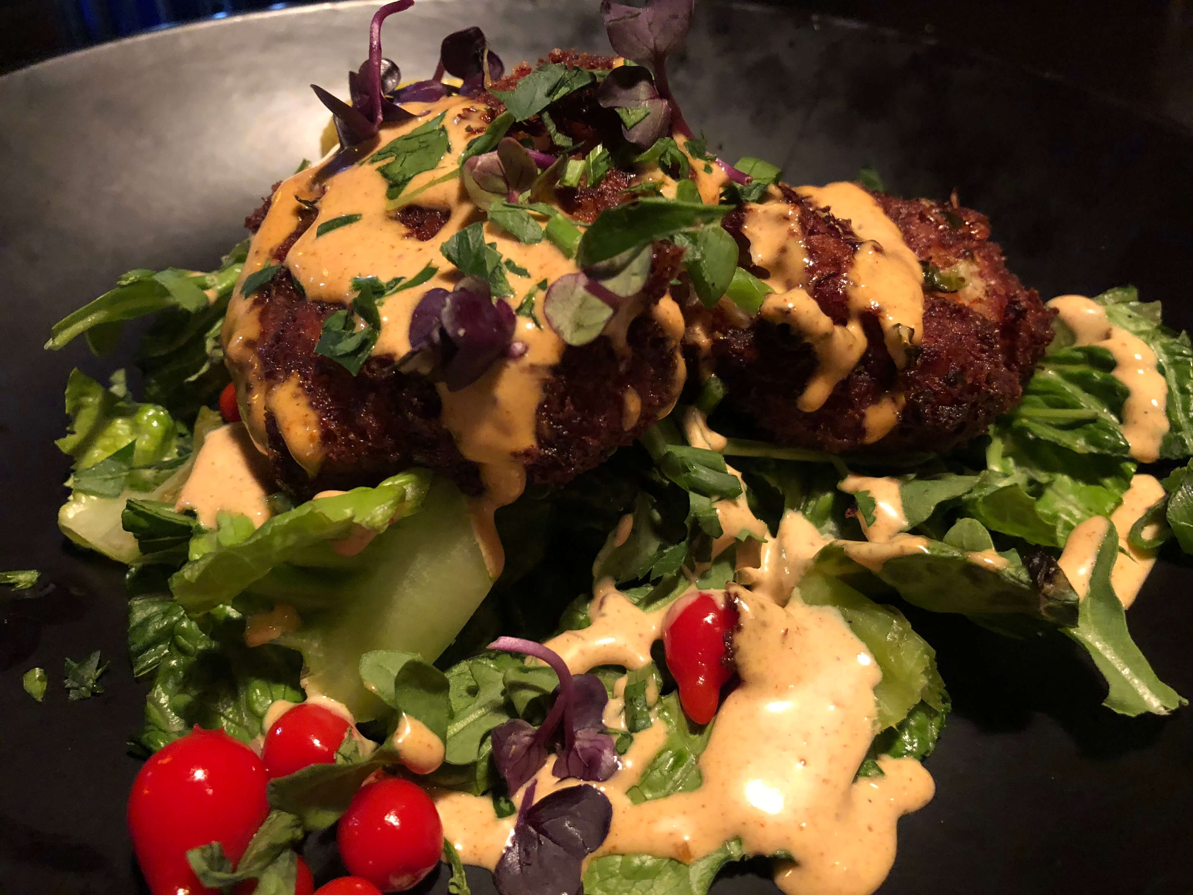 Crab and Lobster Cakes at Fire Tower