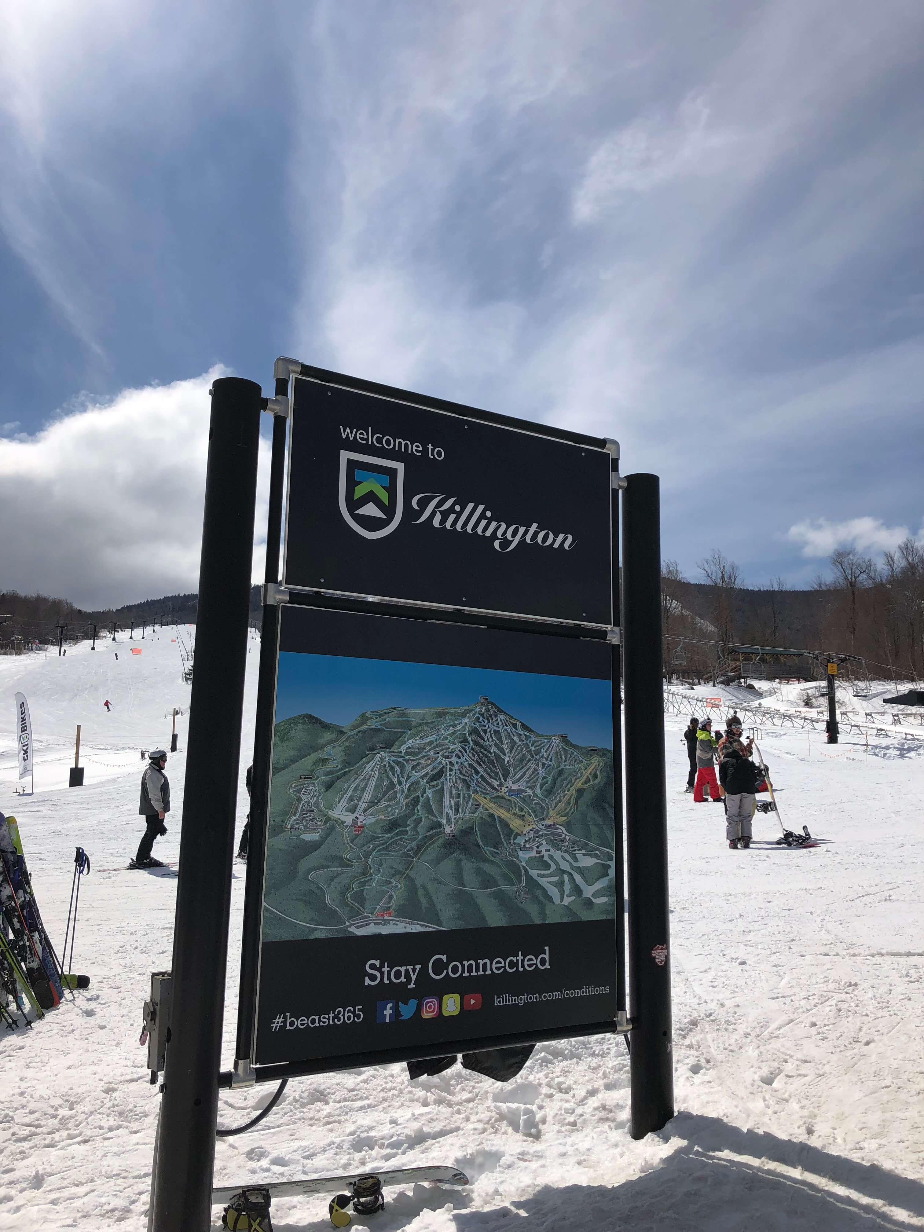 Killington Resort learning to ski