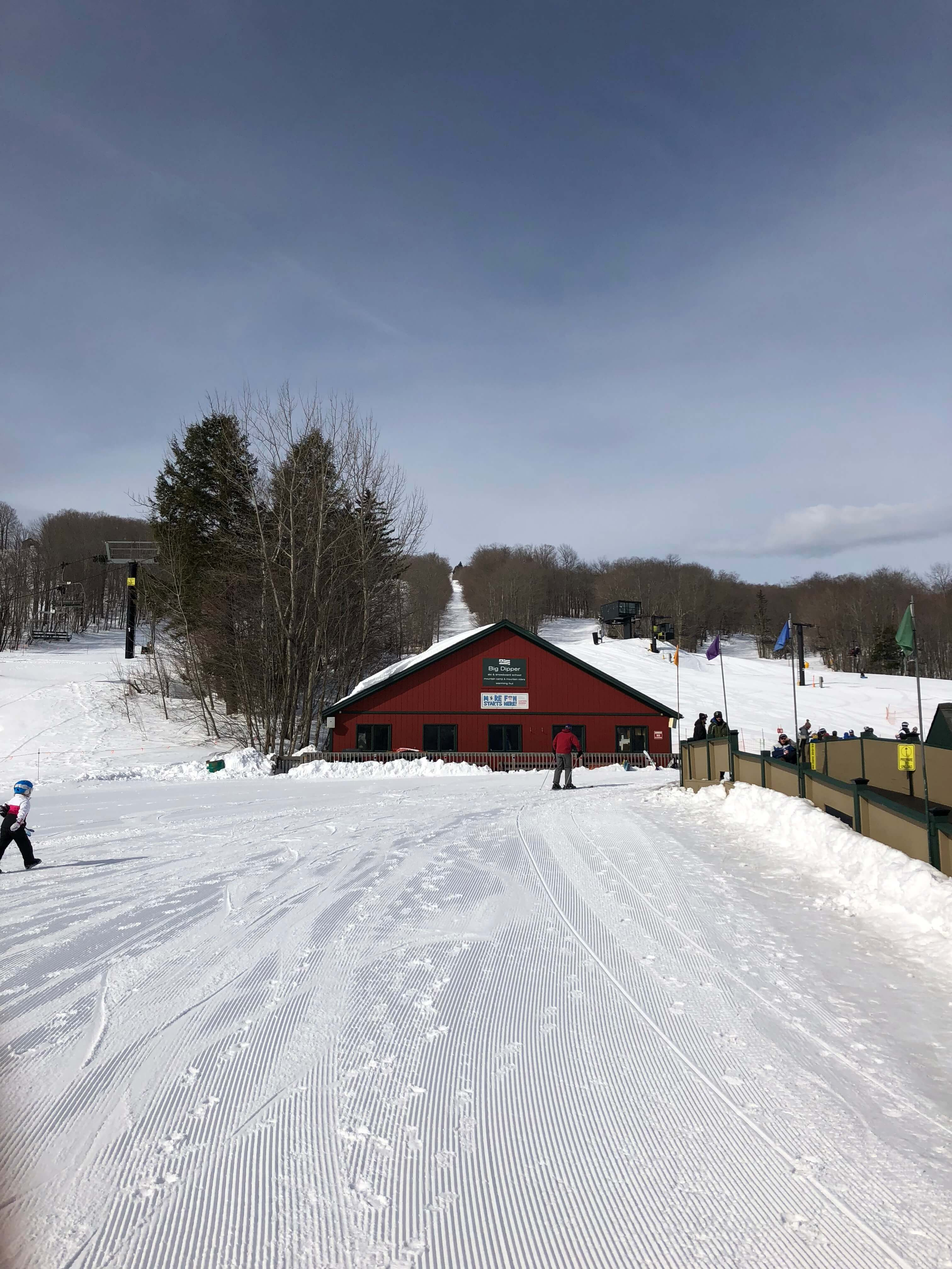 learning to ski as an adult at mount snow