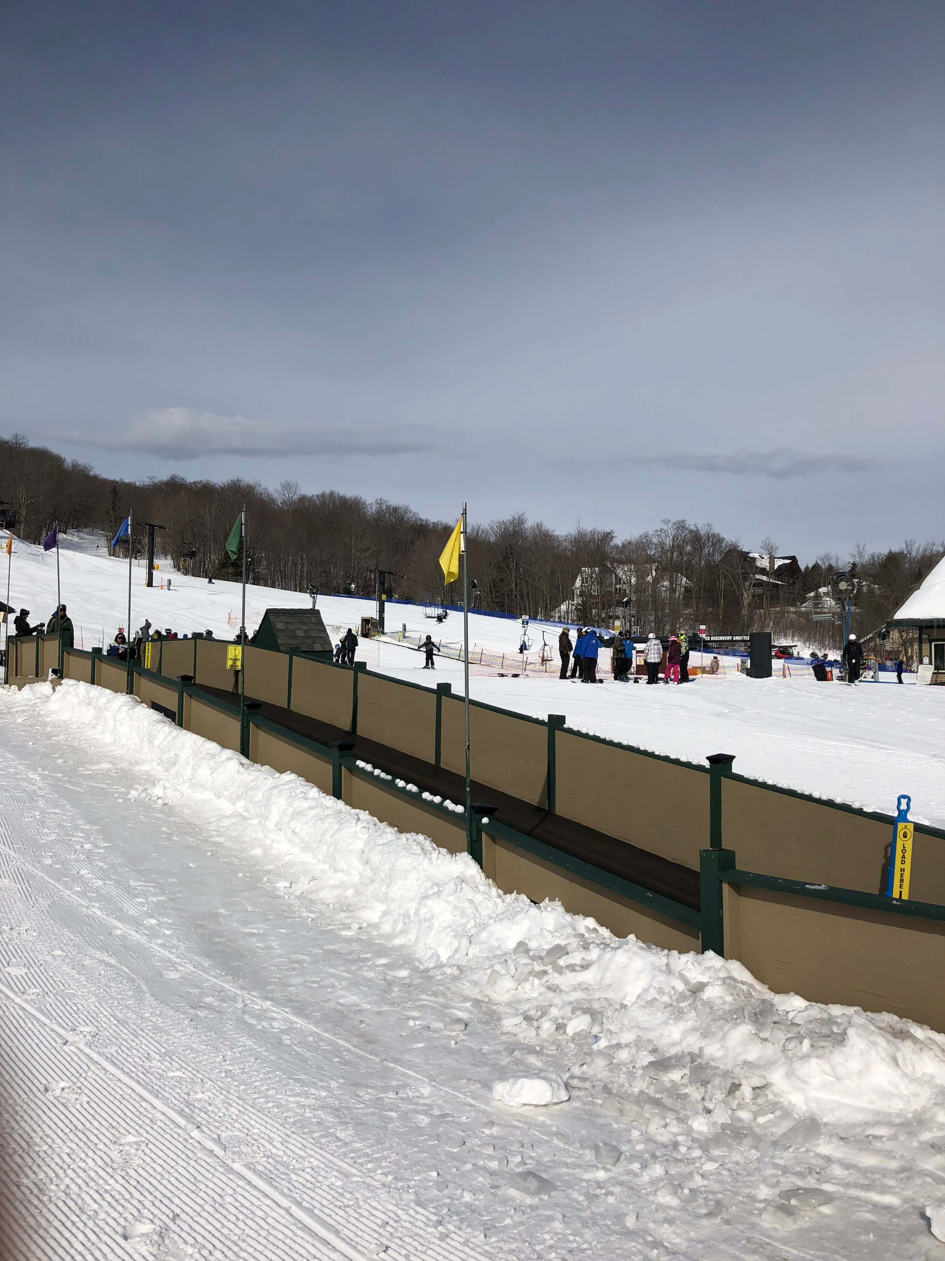 magic carpet learning to ski as an adult in vermont