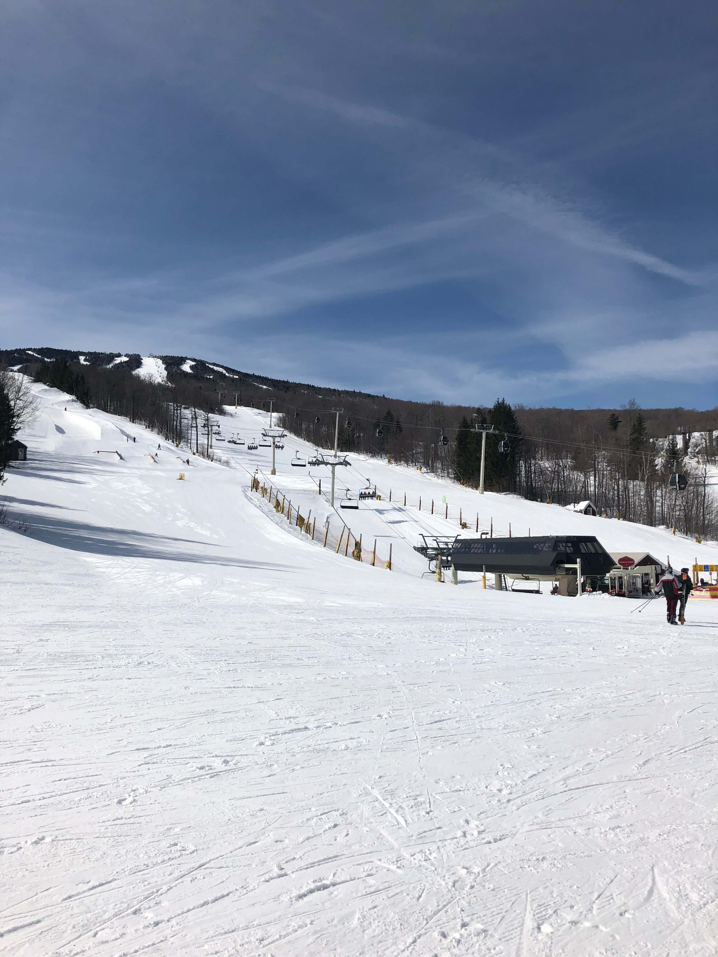 learning to ski as an adult at stratton mountain vermont
