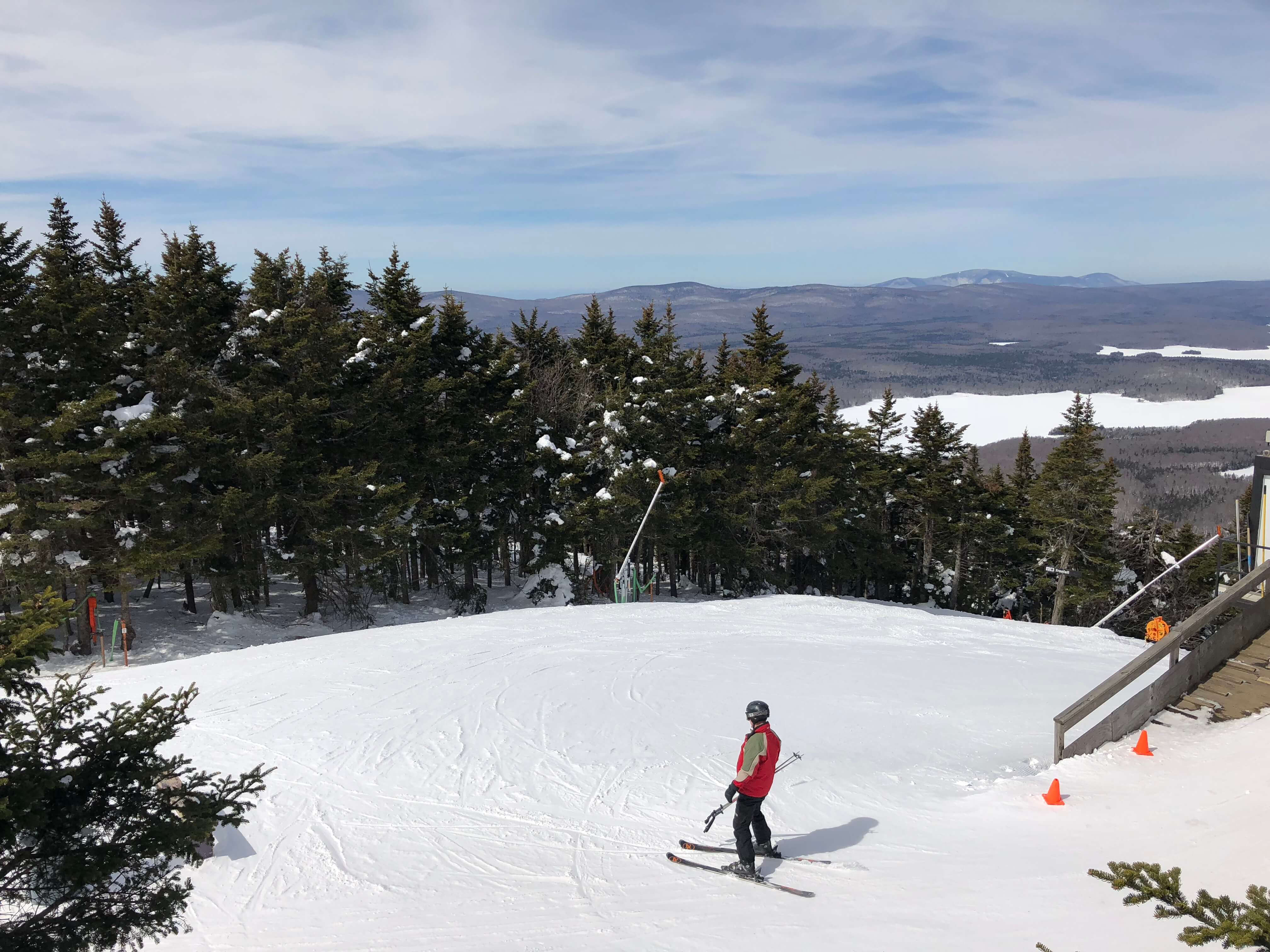 learning to ski as an adult at stratton mountain