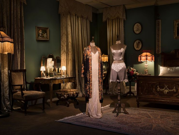 royal wedding Details on Downton Abbey: The Exhibition: