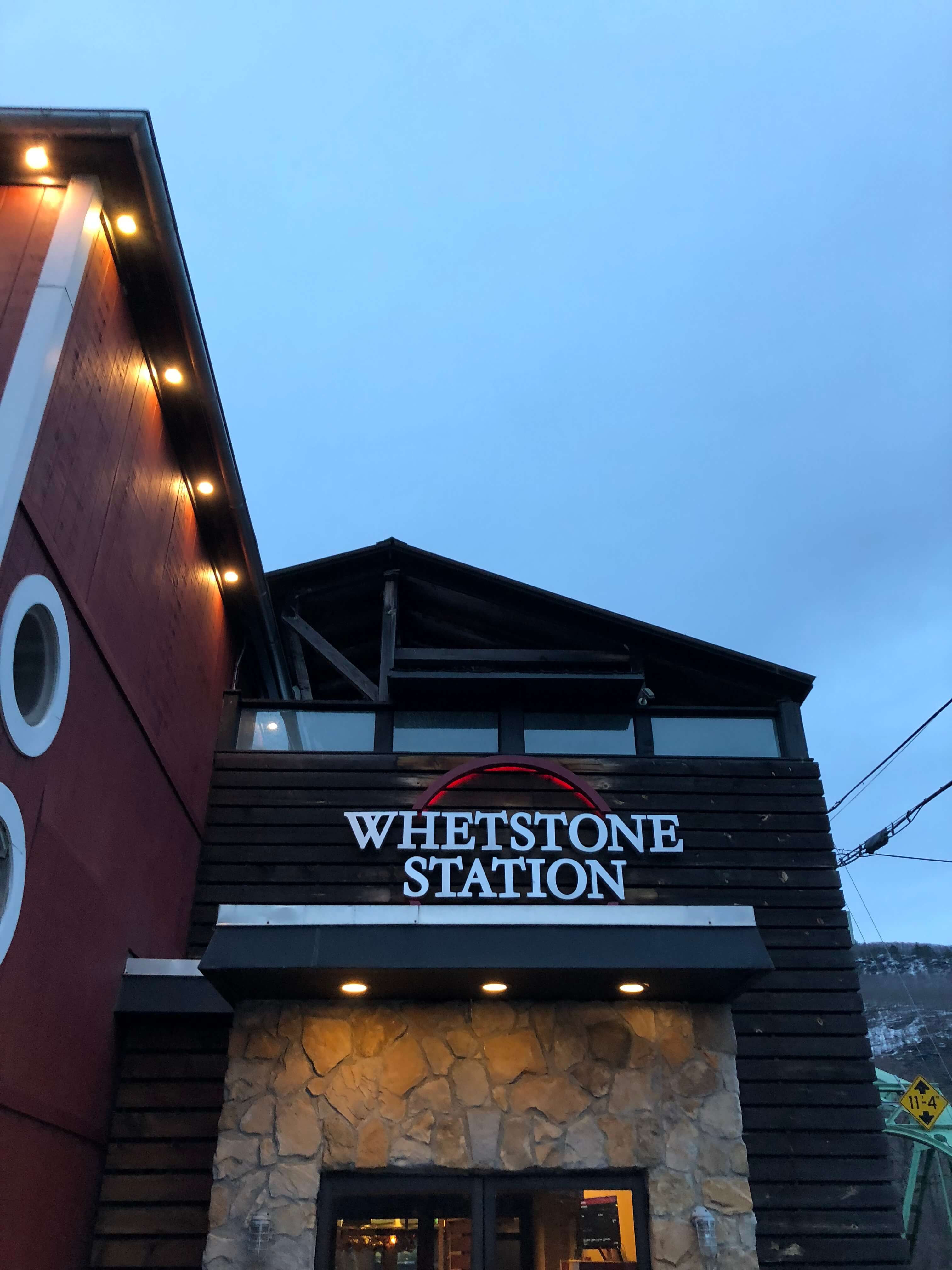 Whetson Station food and drinks