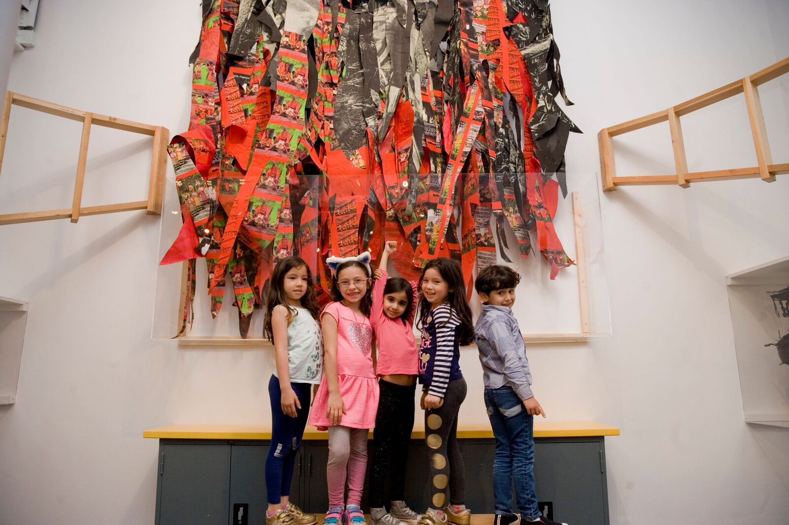 Art, Artists & You Exhibit at the Children's Museum of Manhattan