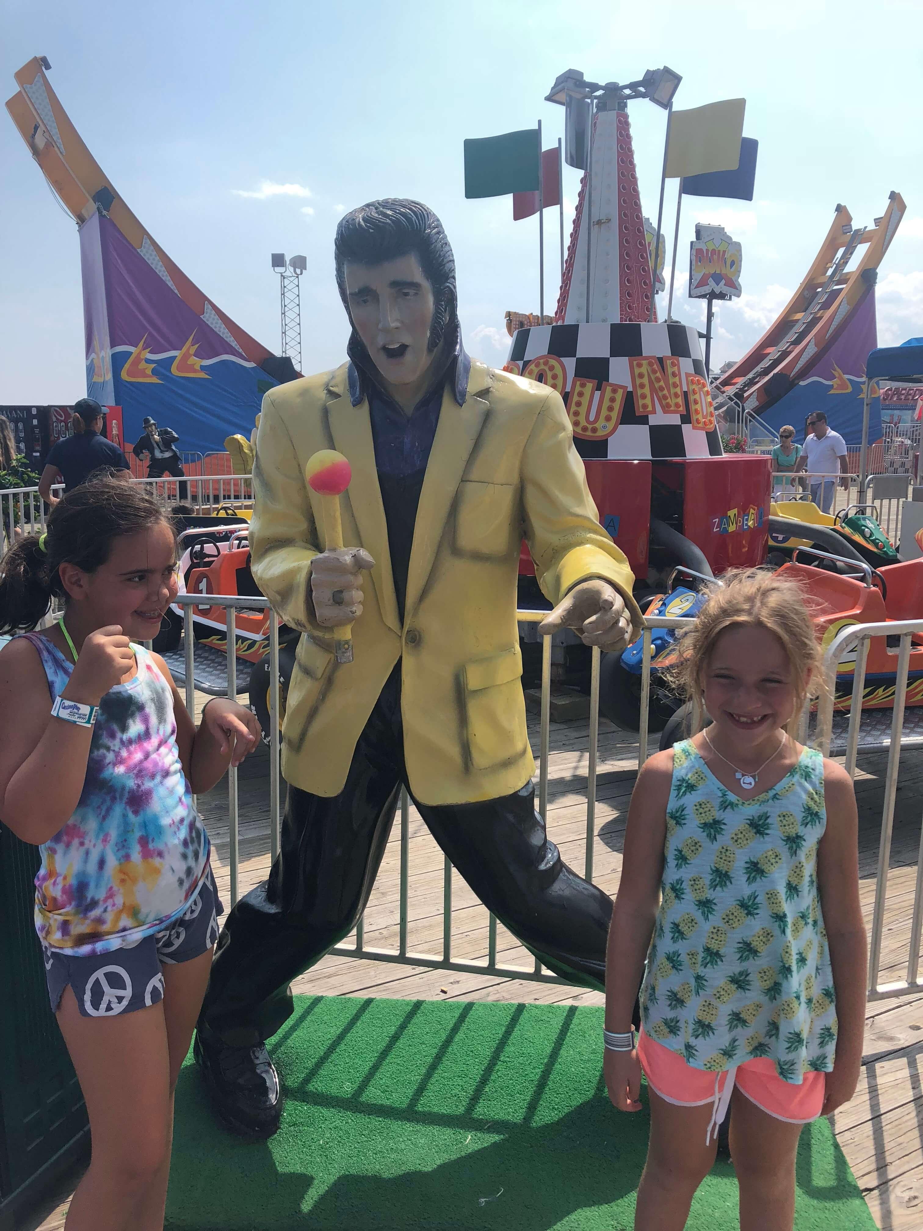 Casino Pier Breakwater Beach elvis