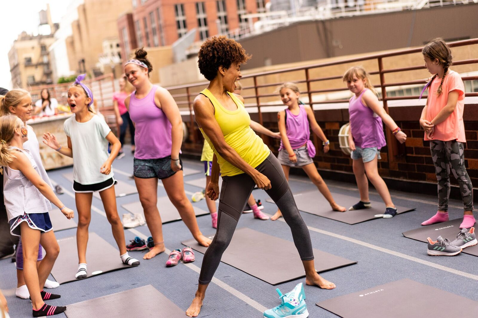 Athleta Girl Encourages Young Girls to #StayInTheGame This School Year