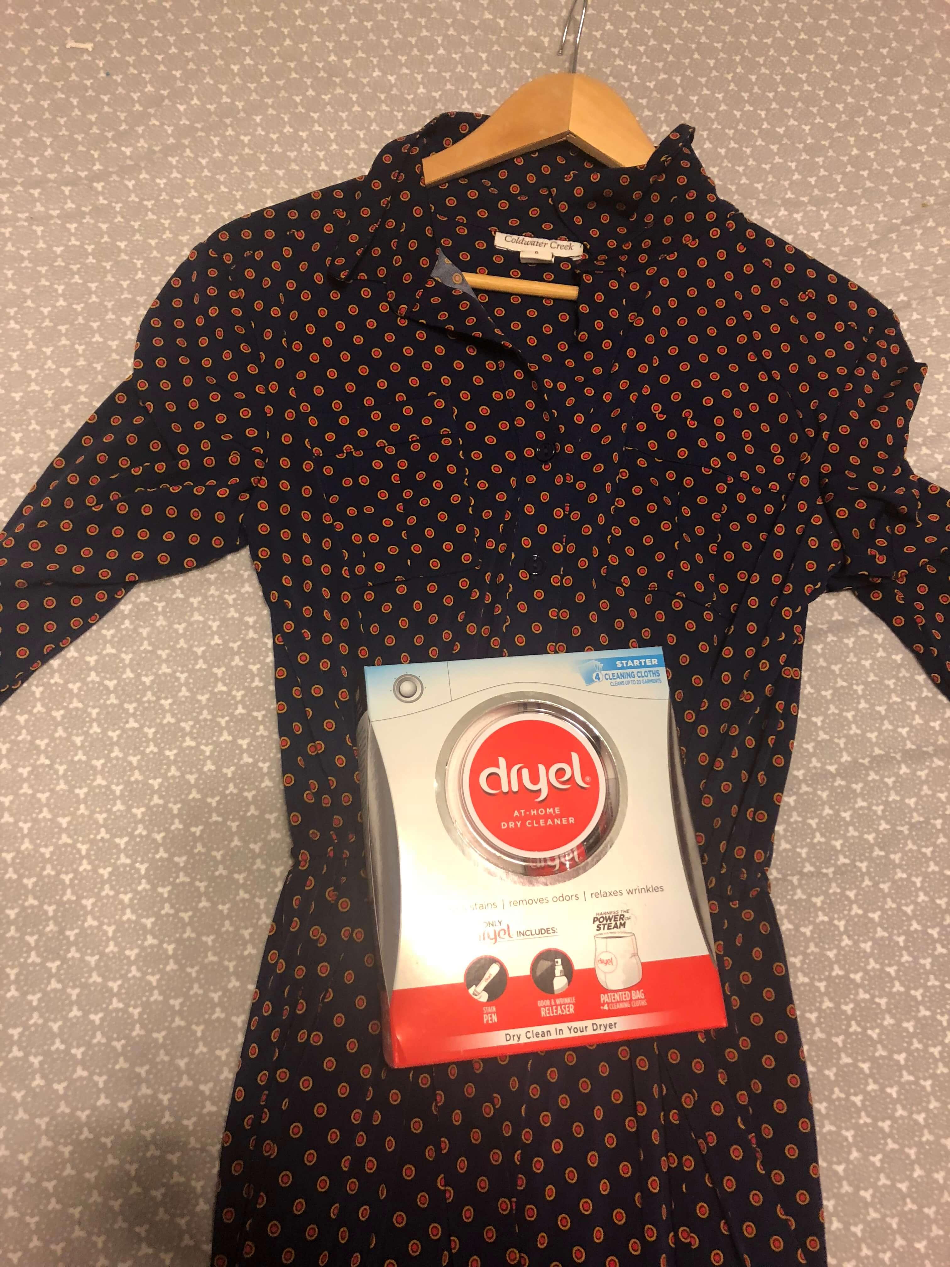 Fall Essentials I'm Loving dress cleaning by dryel