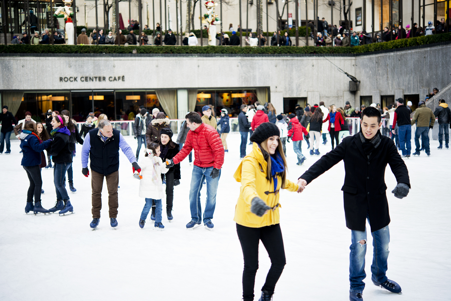 Family-Friendly Spring Break Deals Allow Kids to Skate for Free at The Rink at Rockefeller Center