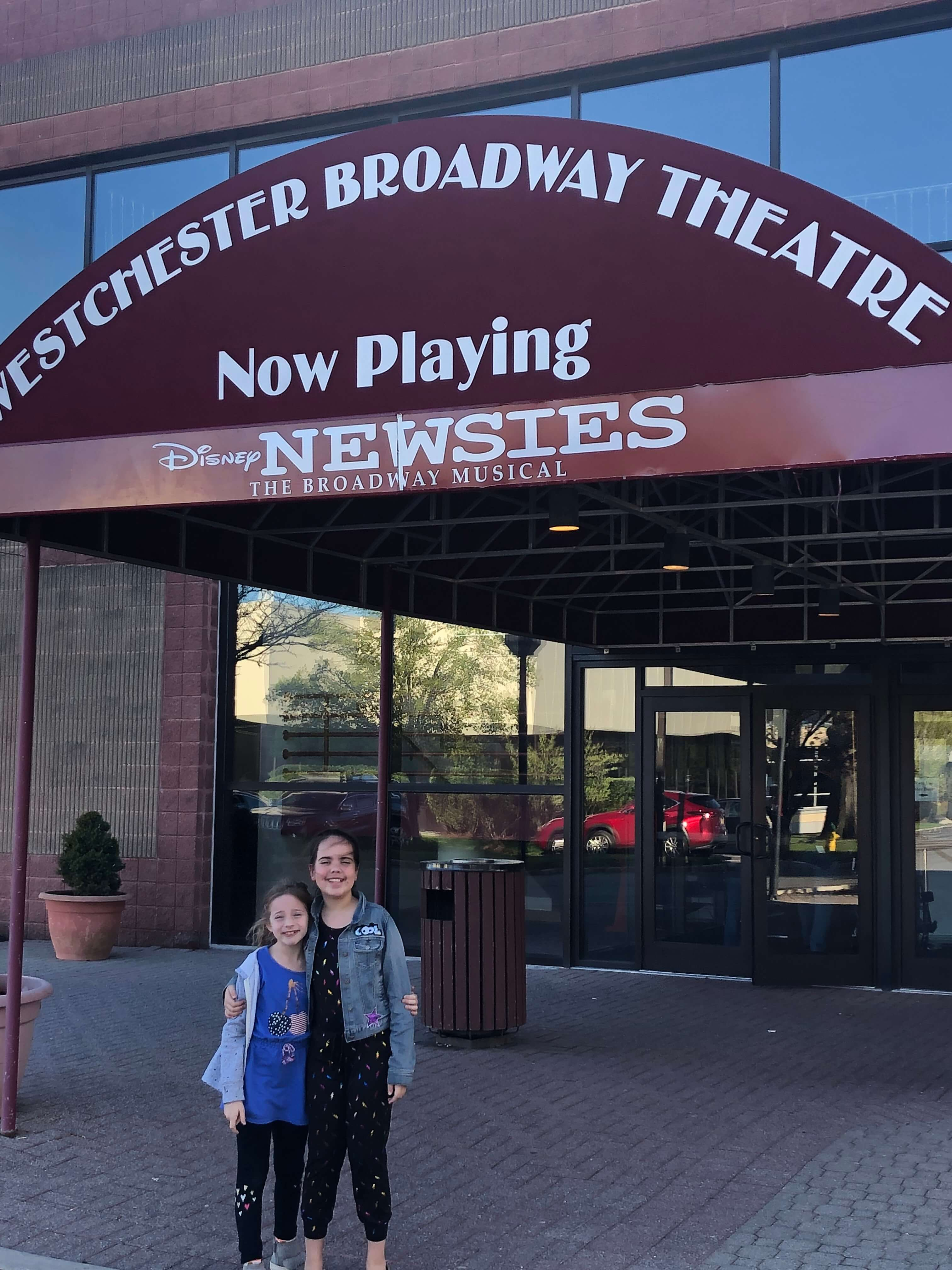Incredible Production of Newsies at the Westchester Broadway Theatre