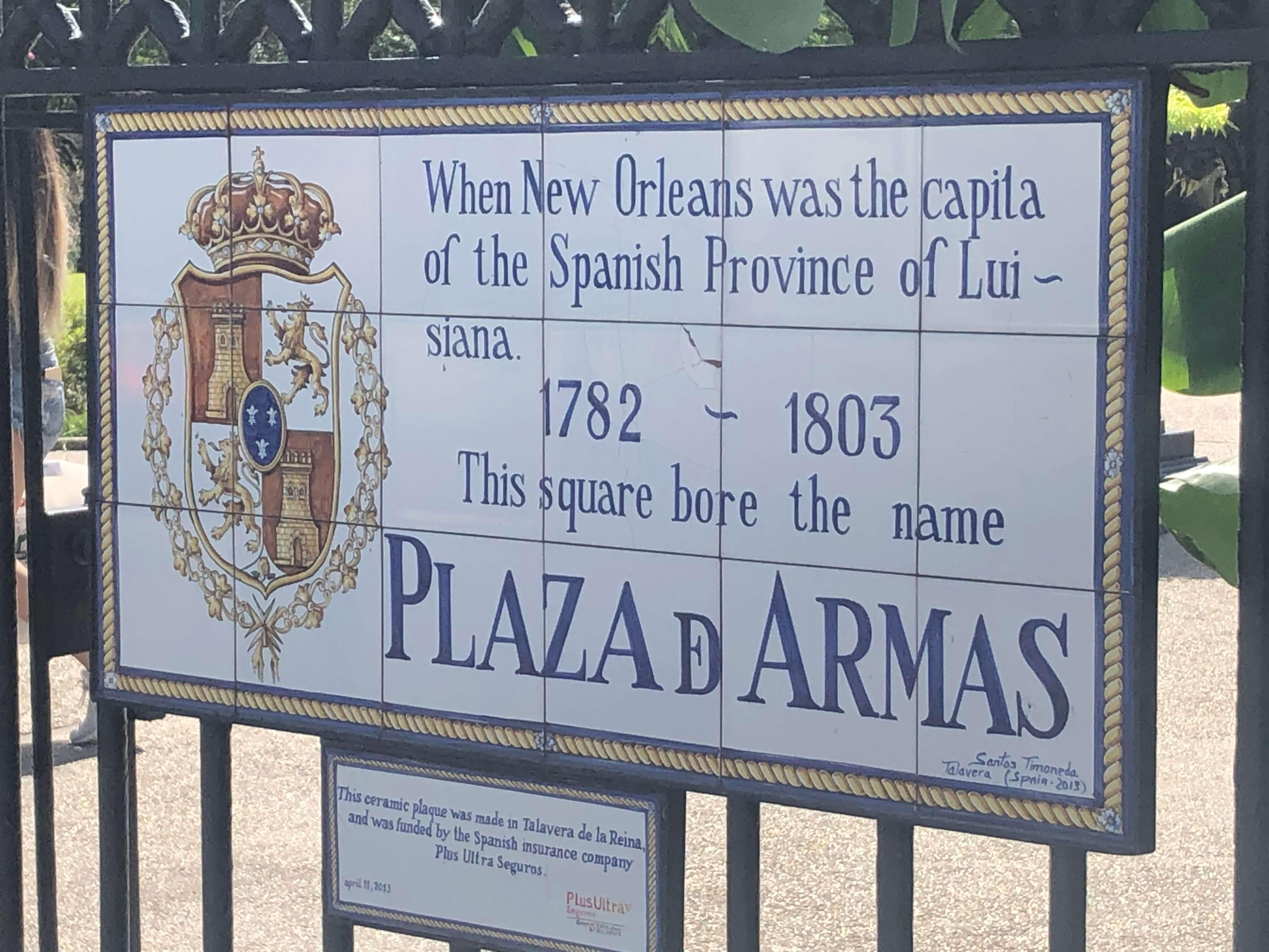 Jackson Square New Orleans travel
