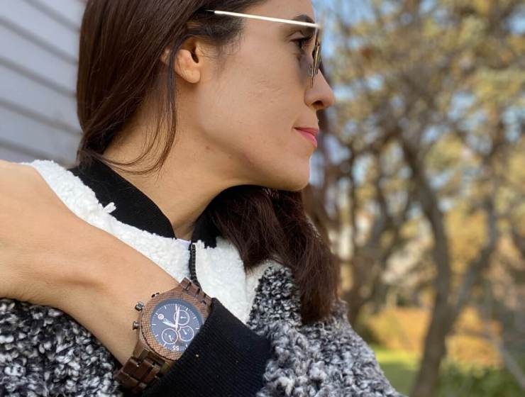 nature of time with Jord wooden watches