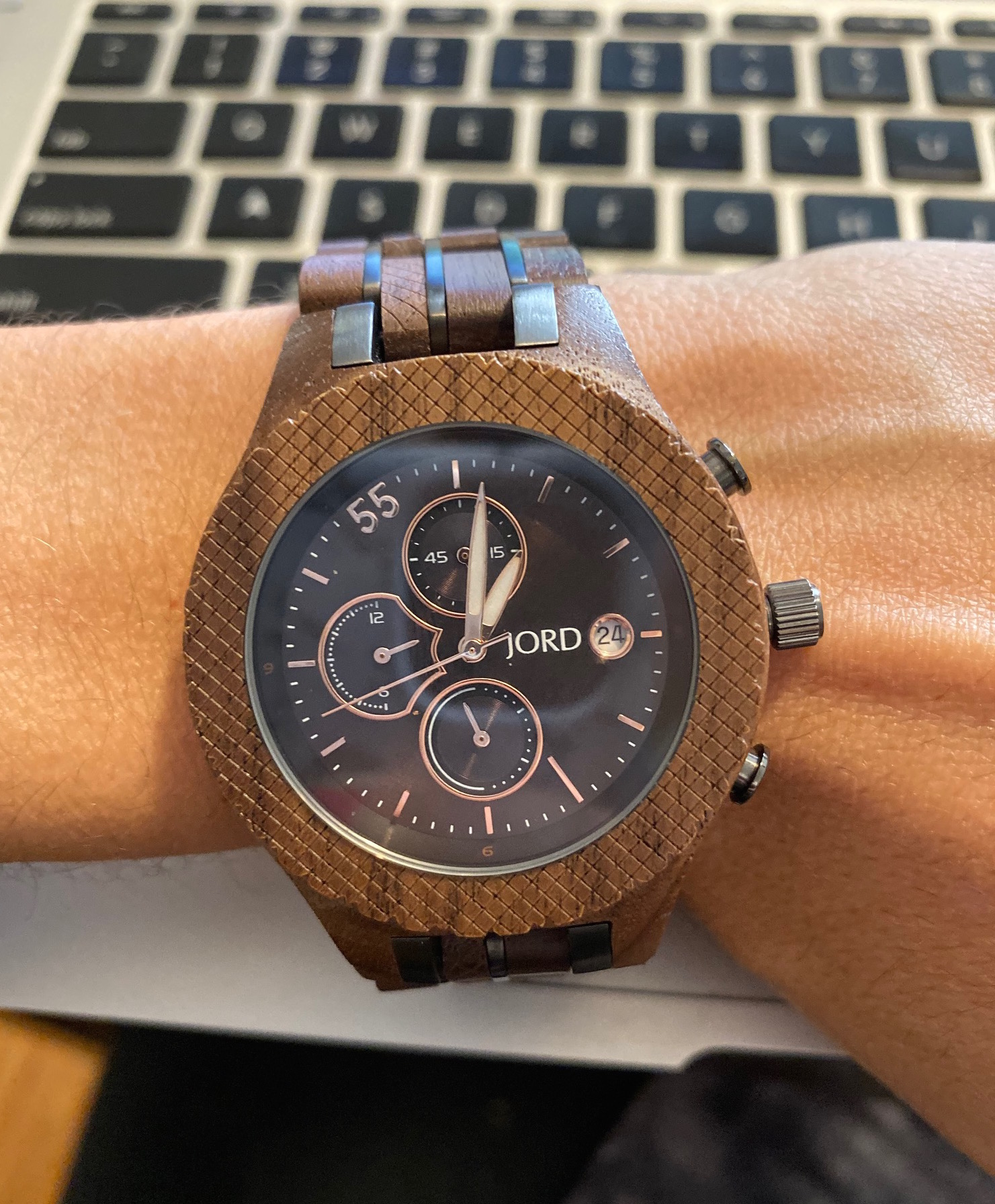 l JORD wooden watch