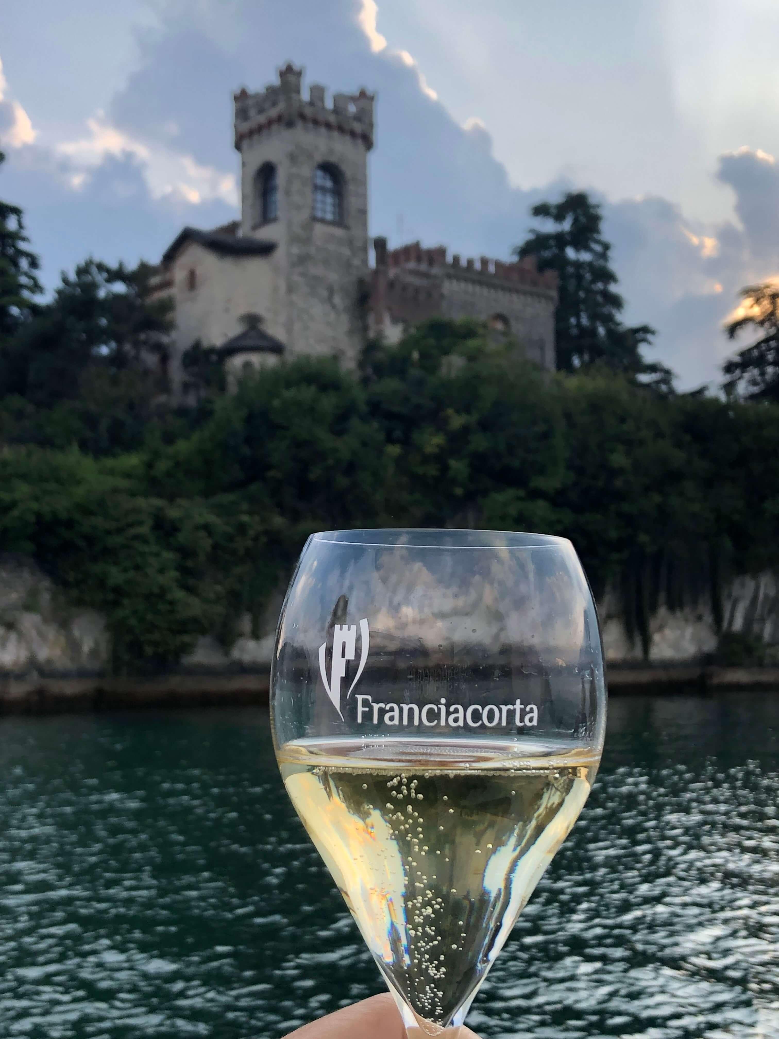 Franciacorta wine region yacht cruise