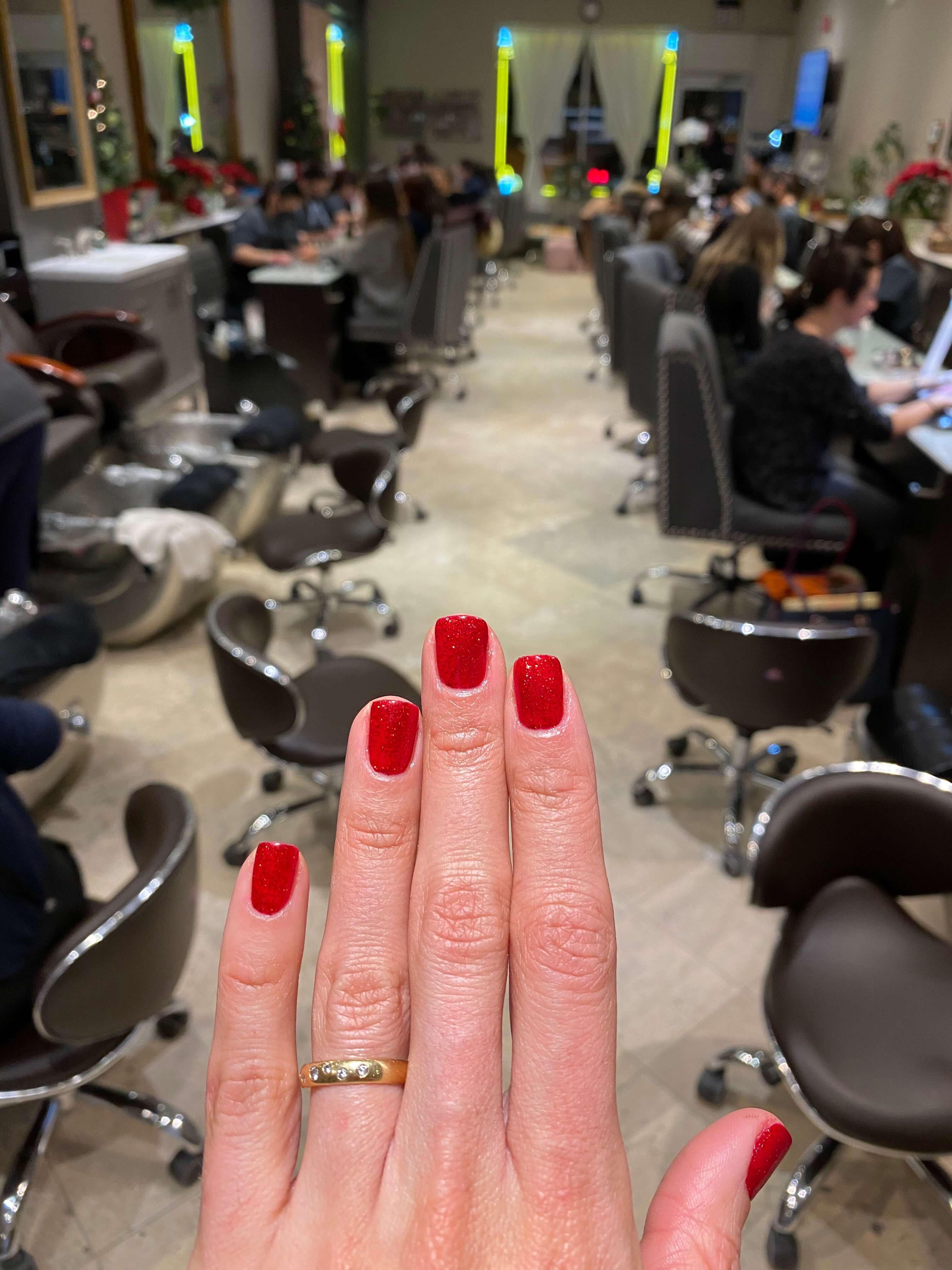 Revamp Your Nail Game at Nail Spa Elmsford in red