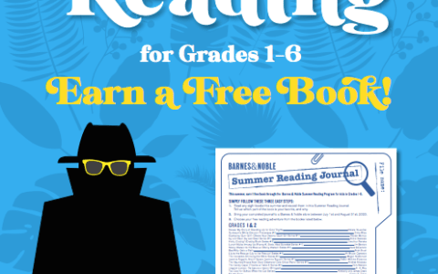 Enjoy Free Books from the Barnes & Noble Summer Reading Program