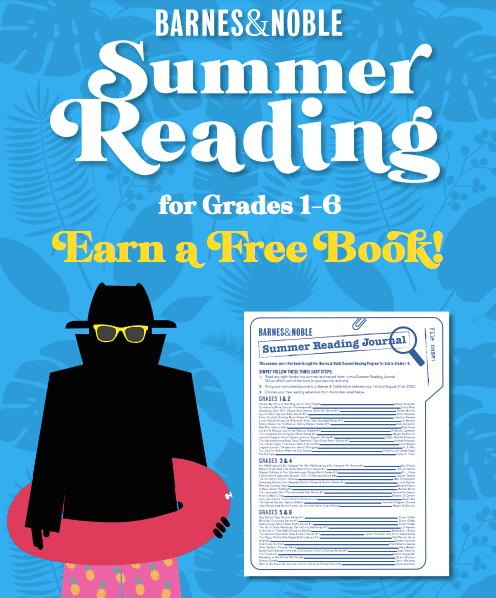 Enjoy Free Books from the Barnes & Noble Summer Reading Program