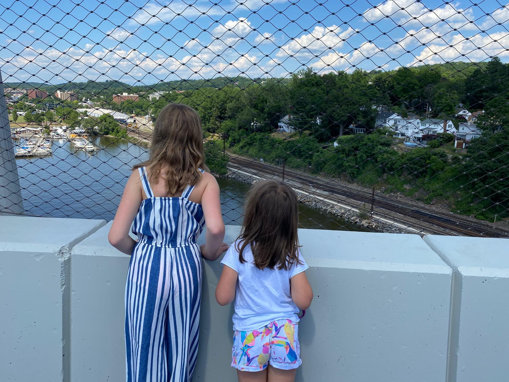 Governor Mario M. Cuomo Bridge Path looking