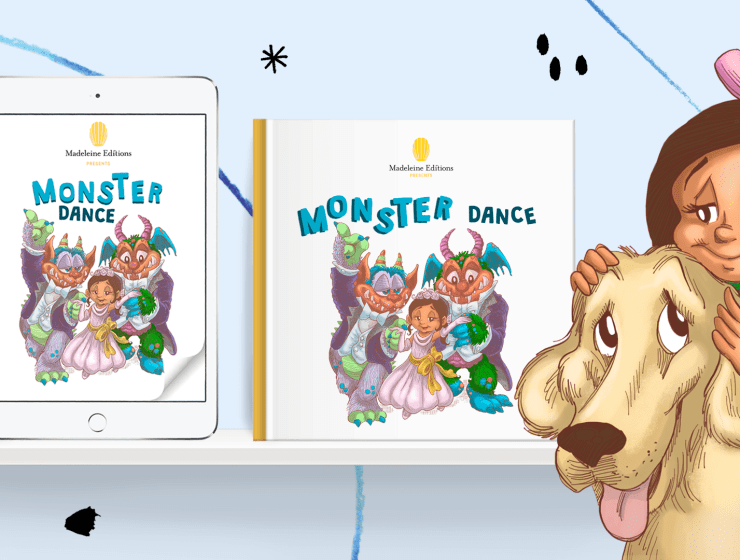 Monster Dance new book for kids dealing with COVID-19