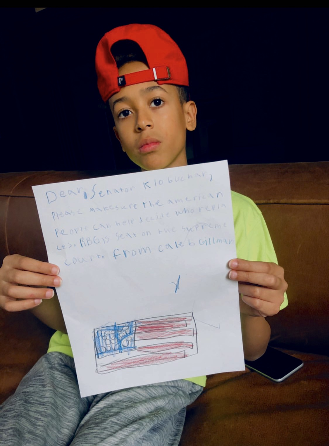 Kids for Justice Letters