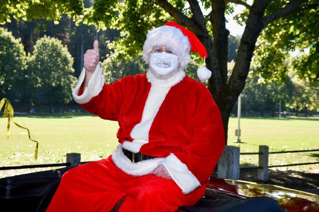 Santa Arrives In Westchester, Tickets to Westchester's Winter Wonderland Drive-Thru Go on Sale