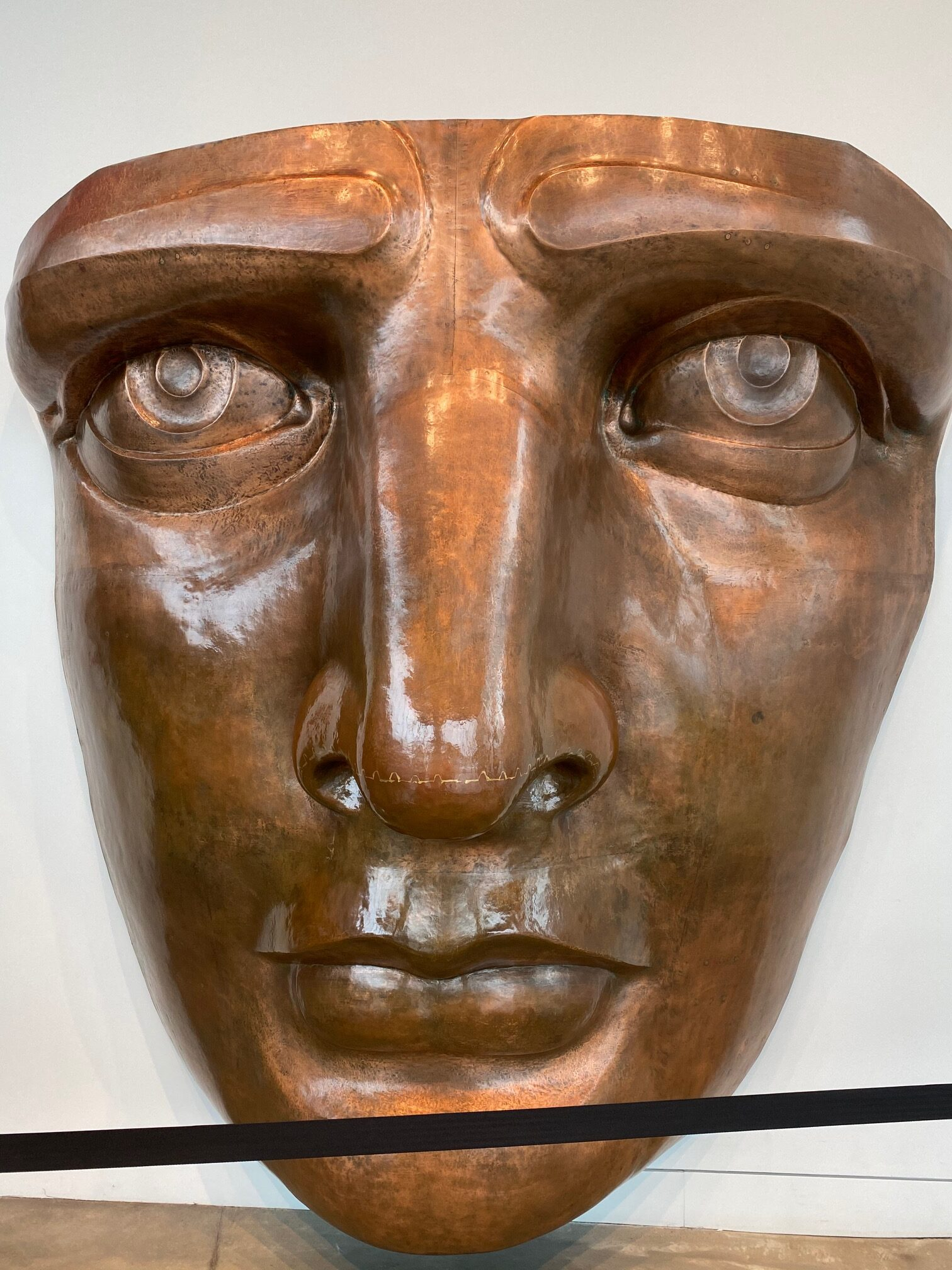 replica of statue of liberty's face