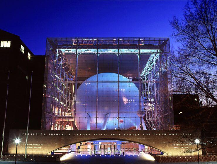 AMNH Hayden Planetarium Space Theater Reopens