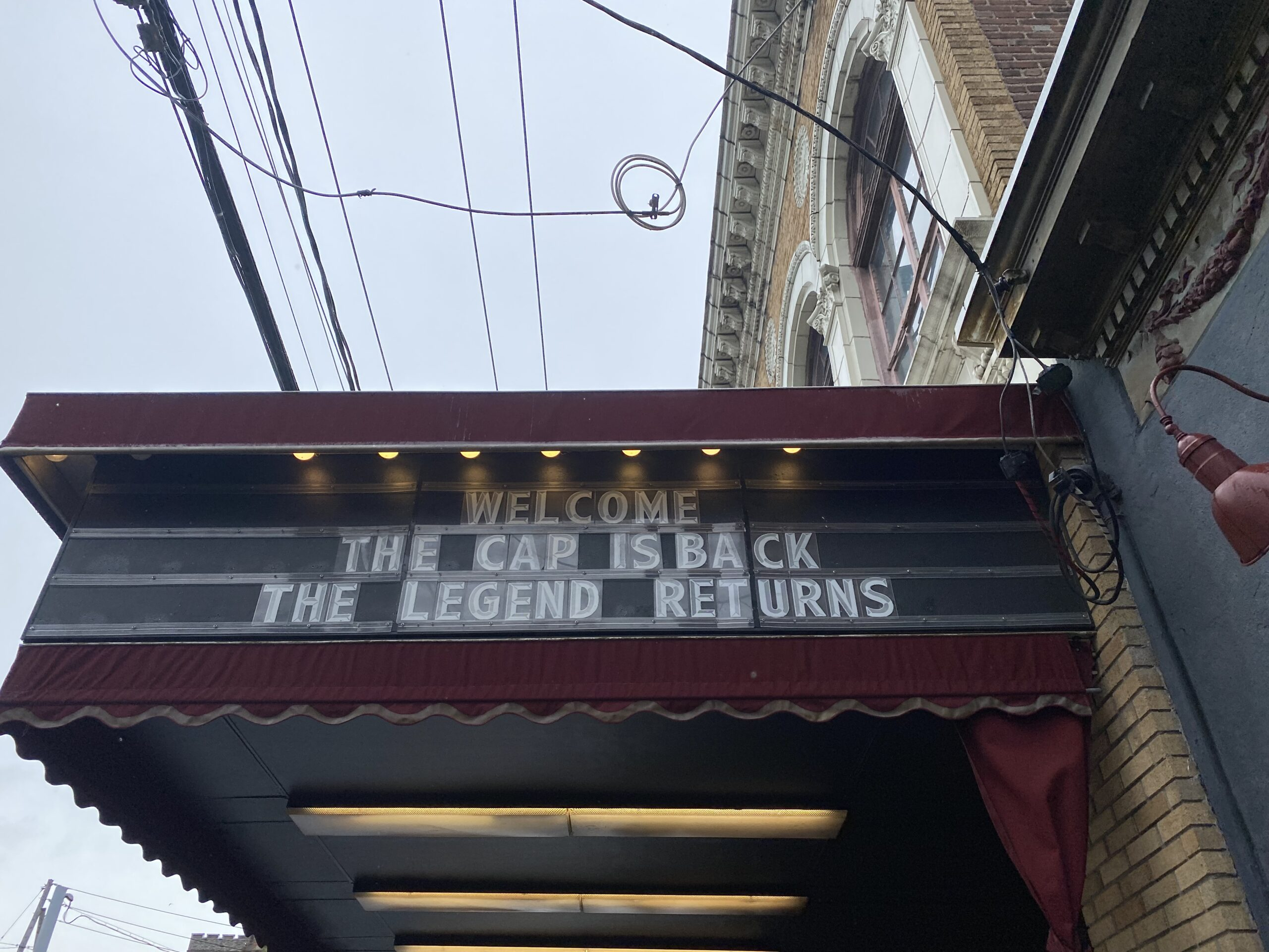 The historic Capital Theatre is ready to re-open with a full line-up of concerts after a long 18 months closure due to COVID.