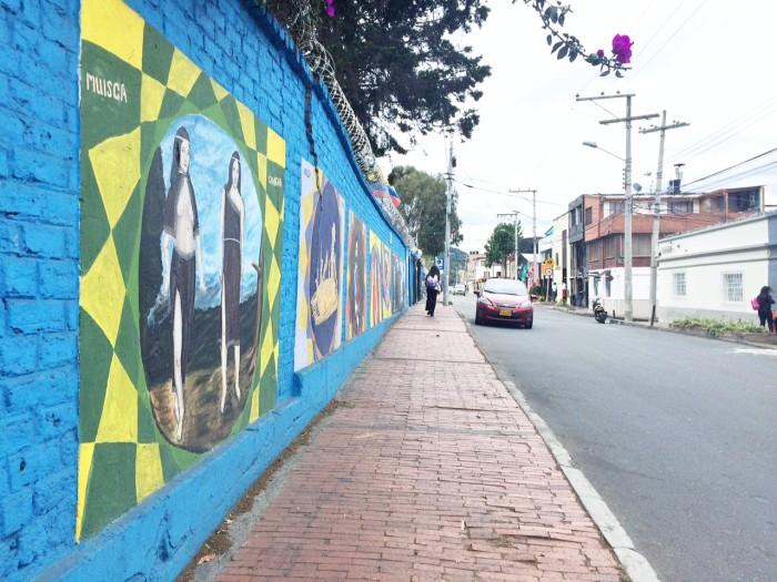 Street art in Bogota   TheWeekendJetsetter.com
