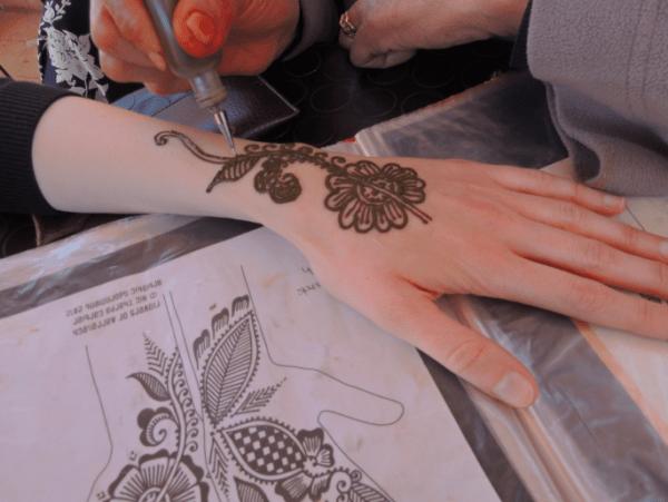 Cafe Henna, Marrakech