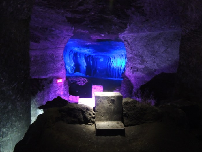 The Salt Cathedral in Zipaquira, Colombia   TheWeekendJetsetter.com