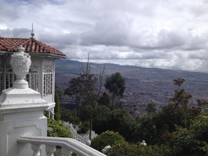 View of Bogota from Monserrate | TheWeekendJetsetter.com