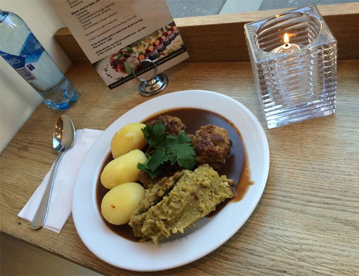 Traditional Norwegian Food in Oslo, Norway
