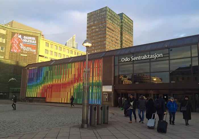 Oslo Sentrastasjon, Central Station