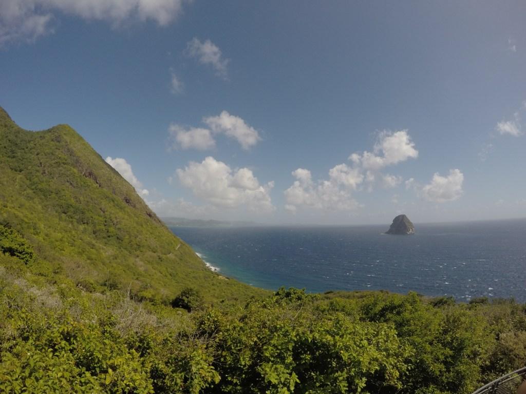 Diamond Rock in Martinique | TheWeekendJetsetter.com