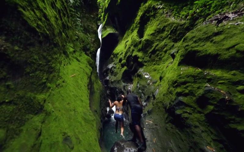 Les Gorges de la Falaise, Martinique