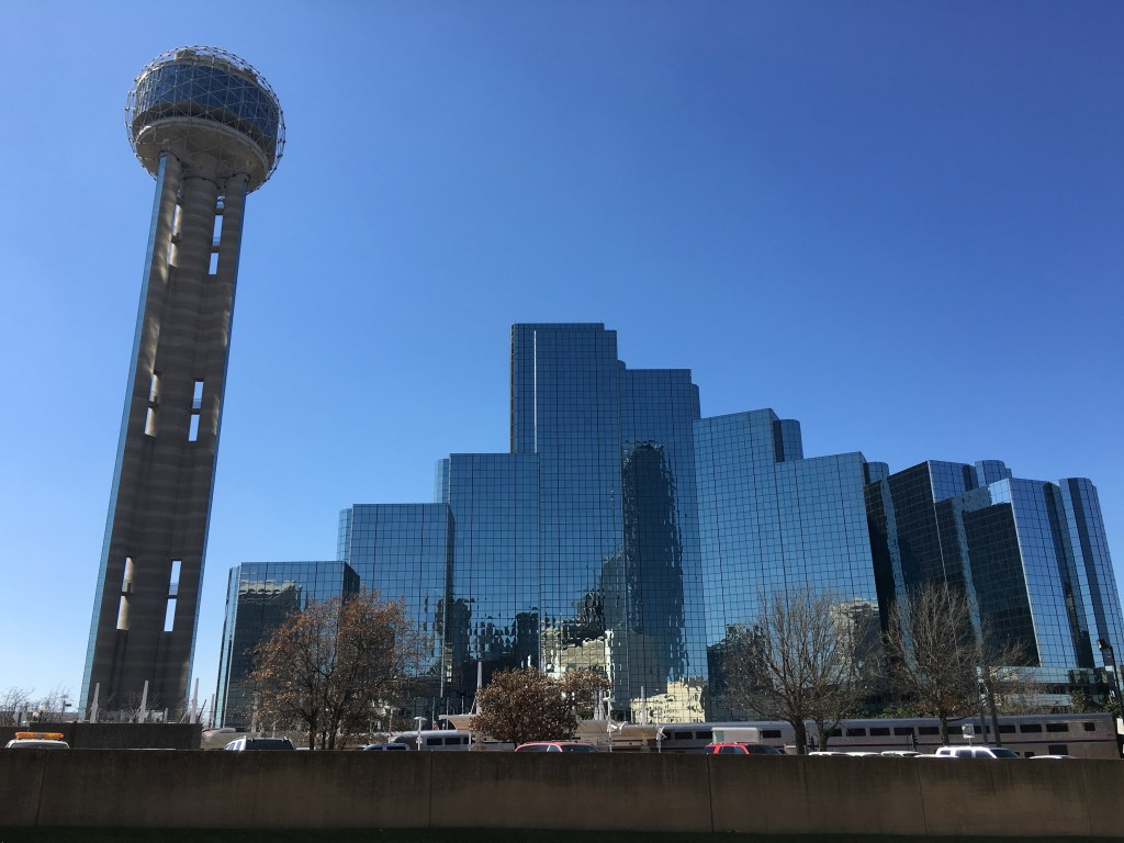 Reunion Tower, from: A Weekend in Dallas - theweekendjetsetter.com