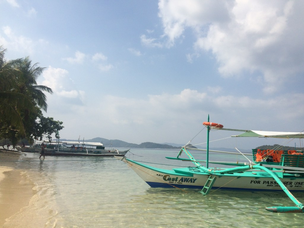 "Port Barton, a relaxing beach town in Palawan, the Philippines - voted ""World's Best Island"" by Conde Nast Traveler 