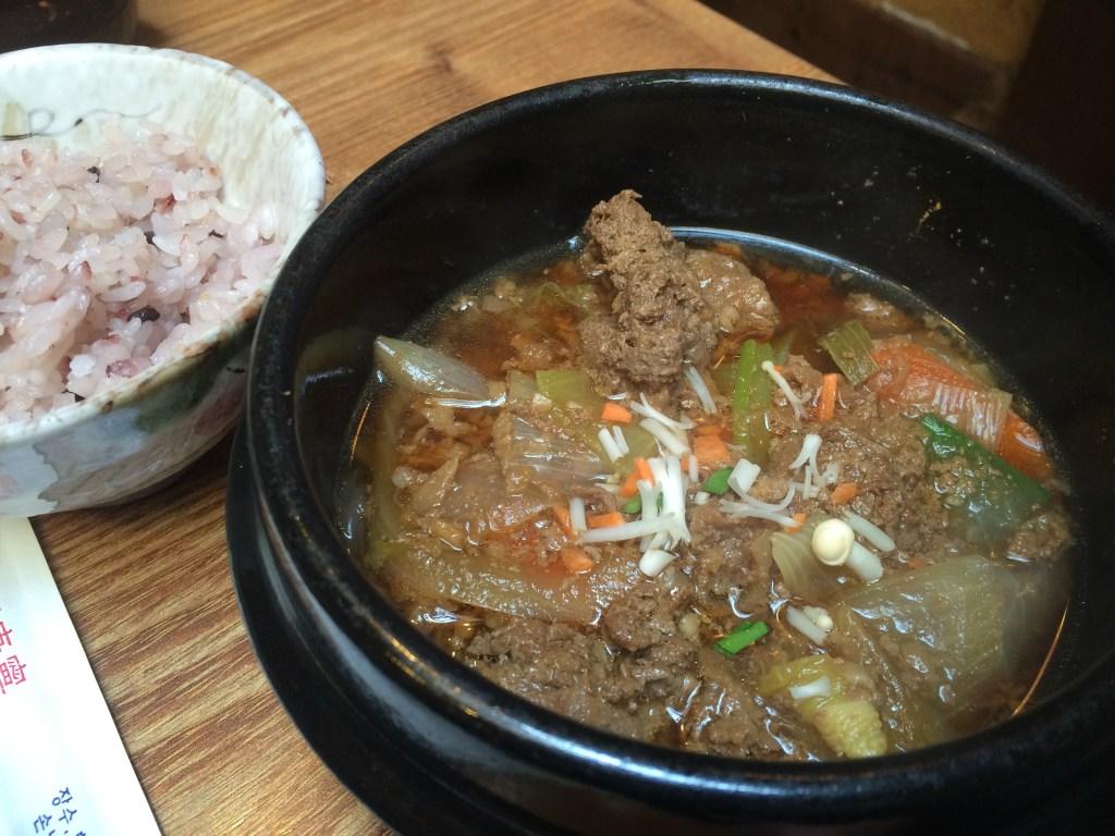 Korean Food on Insadong Street