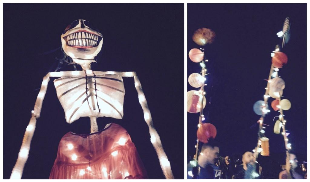 Lantern Parade on the Atlanta BeltLine | TheWeekendJetsetter.com